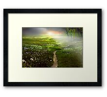 Fantasy Land Framed Print