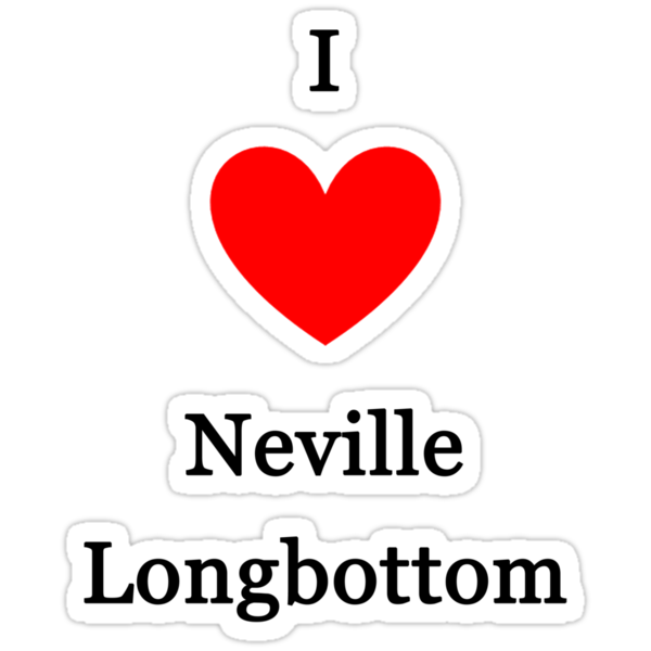 I love Neville Longbottom by meldevere