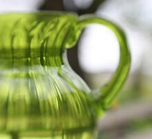 Little Green Jug by Jason Dymock Photography