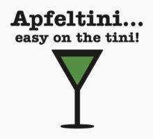 Apfeltini... Easy on the tini! by patrik777