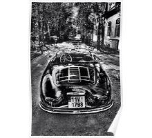 Porsche Speedster 1955 Poster