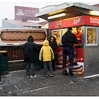 Hotdogs in the Blizzard, Reykjavik (Iceland) by Madeleine Marx-Bentley