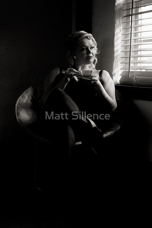 Sitting, Relaxing, Day Dreaming by Matt Sillence