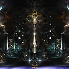 Unity Scape Fractal Abstract by xzendor7