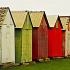 Colorful Sheds by Jena Ferguson