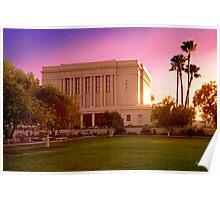 Mesa Arizona Temple Desert Sunset 20x30 Poster