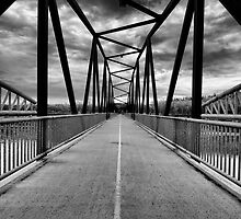 Bridge Through Troubled Skies by Myron Watamaniuk