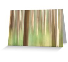 Painting the Forest Greeting Card