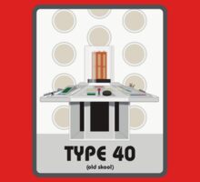 Type 40 (old skool) by Iain Maynard
