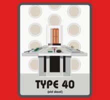 Type 40 (old skool) by Iain Maynard