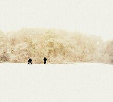 Snow scene by jenny123x