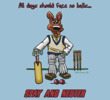 SPAY AND NEUTER by NHR CARTOONS .