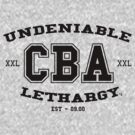 CBA-University (for light shirts & sticker)  by cubik