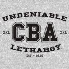 CBA-University (for light shirts & sticker)  by cubik