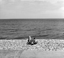 The Sunbather - Sheringham, Norfolk, UK by Richard Flint