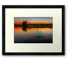 Midsummer magic Framed Print