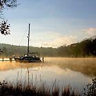 Foggy Boat by Eileen McVey