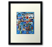 In My Father's House Are Many Mansions Framed Print