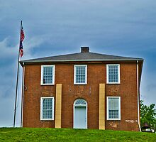 Original Meigs County (Ohio) Court House by Bryan D. Spellman