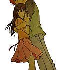 Tohru Honda and Kyo Sohma by merelyAdreamer