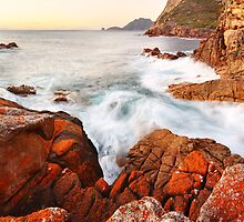Sleepy Bay Sunrise, Freycinet National Park, Australia by Michael Boniwell
