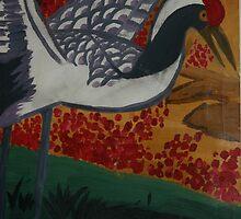 Crane Flys East by Jessica Lynn