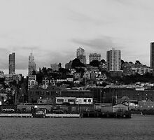 Nightfall upon the City by the Bay by fototaker