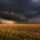 Shelf Cloud Near Nash, Oklahoma by MattGranz