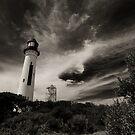 White Lighthouse - Queenscliff by Jack Jansen