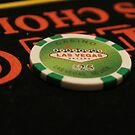Poker Chip by nervouspilchard