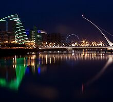 Dublin Liffey view by Esther  Moliné