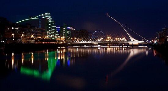 Dublin Liffey view by Esther  Moliné