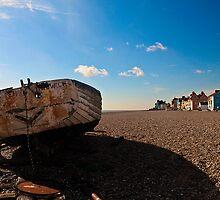 Aldeburgh Beach  Suffolk UK by James  Key