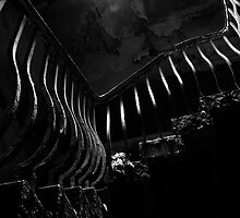 the old staircase by tom  adamson
