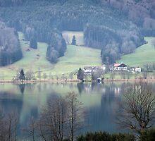 lake in austria by milena boeva