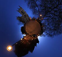 Little planet for York Minster by isaacsfotos