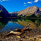 Upper and Lower Kananaskis Lakes, Alberta, Canada by Laurast