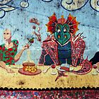 The last supper with a twist - detail 1 by MikeShort