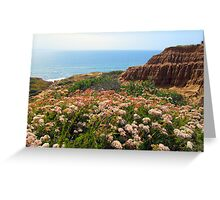 Water Over The Horizon Greeting Card