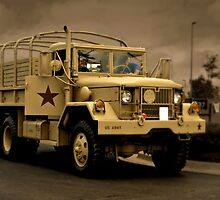 1972 Kaiser M35A2 Deuce and a Half Ton Troop Carrier by TeeMack
