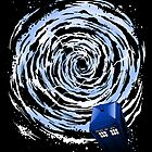 Vortex TARDIS Poster by zerobriant