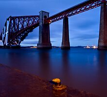 Forth Rail Bridge, Edinburgh, Scotland by Birgit Van den Broeck
