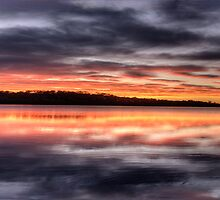 Light Show # 2 (25 Exposure HDR Panorama) - Narrabeen Lakes,Sydney - The HDR Experience by Philip Johnson