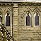Church Windows by Rae Tucker