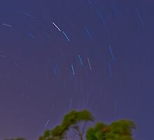 first star trail by Benwalsh
