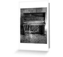 Norwich Piano, Hallet, Davis & Co from Boston Massachusetts Greeting Card