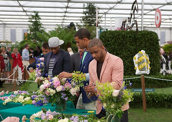 JLS flower arranging by Keith Larby