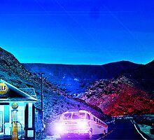 Traiways Bus Stop by Mike Pesseackey (crimsontideguy)