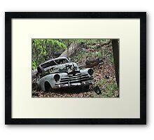 May Old Motor Car Framed Print