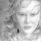 Nicole Kidman by Ronny Hart